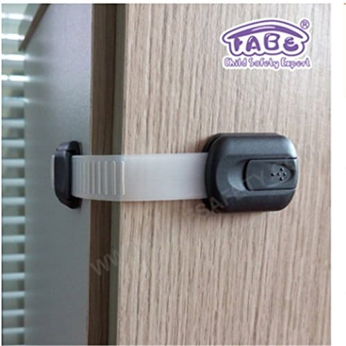 trysunny 6 pcs fermeture securite verrouillage adhesif enfant sur r frig rateur. Black Bedroom Furniture Sets. Home Design Ideas