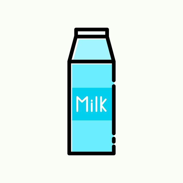 lait, en carton, pack