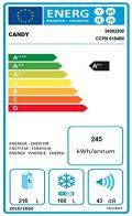 Candy CCPN 6184IW Autonome 316L A++ Blanc réfrigérateur-congélateur - Réfrigérateurs-congélateurs (316 L, N-ST, 11 kg/24h, A++, Nouvelle zone compartiment, Blanc)